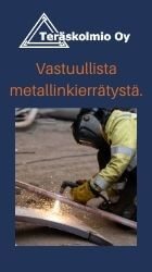 Teräskolmio Oy- Ympäristä & Yritys Tänään